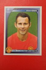 PANINI CHAMPIONS LEAGUE 2008/09 # 19 MANCHESTER UNITED GIGGS BLACK BACK MINT!!!