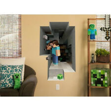 Minecraft Wall Sticker Removable Vinyl Decoration Picture Decal Steve Creeper