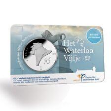 **Coincard 2015 Waterloo vijfje Nederland KNM - BU Kwaliteit** -In Stock!