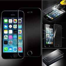 Genuine Tempered Glass Screen Protector Protection For Apple Iphone 5C 5S