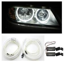 BMW X3 E83 (2003 Luci di cortesia CCFL Angel Eye Kit 6000K 4 x Anelli 2 Inverter