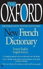 The Oxford New French Dictionary, Oxford University Press, Very Good Book