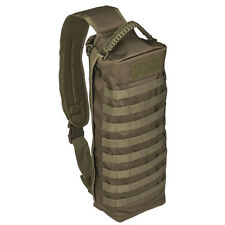 Tanker Military Army Airsoft EDC Camera Sling Pack Rucksack Case Bag 15L Green