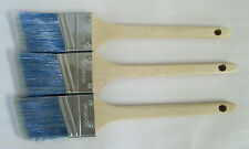 "Lot of 3 Wooster PRO CLASSIC EASYFLO Synthetic Blend Angle Paint Brushes, 2"" Ea."