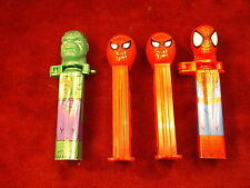 #5 of 17, LOT OF PEZ CANDY DISPENSERS, 3 AMAZING SPIDERMAN, 1 INCREDIBLE HULK
