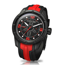 Red Swiss Sport Watch Wryst Ultimate ES60 Black DLC Coating Limited Edition 99