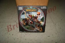 Mega Bloks World of Warcraft Goblin Warrior Trike and Pitz 65 Pc Set NEW