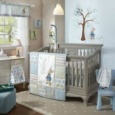 Lambs & Ivy Peter Rabbit 5 Piece Baby Nursery Crib Bedding Set w/ Bumper NEW