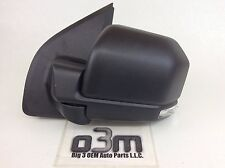2015-2016 Ford F-150 Left Hand Driver Side Black Mirror w/ Turn Signal new OEM
