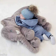 INFANT BABY PHOTOSHOOT PHOTO PROP PLUSH ELEPHANT BIG SOFT TOY PILLOW MOVIE VIDEO