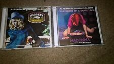 MADONNA - MUSIC + CONFESSIONS ON A DANCEFLOOR - ALTERNATE 2x DOUBLE ALBUMS-CDs