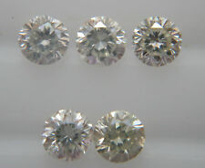 1.9-2mm 0.17cts 5pc SI Clarity H Color Natural Loose Brilliant Cut Diamond Round
