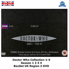 Doctor Who (2009) Complete Collection 1-4 Series 1 2 3 4 BoxSet  UK REGION 2 DVD