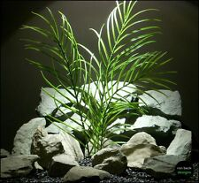 plastic aquarium plant: palm grass from ron beck designs. pap168
