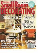 SMALL ROOM DECORATING, BEST USE OF SPACE  BIG DOUBLE ISSUE!  SPRING, 2017  # 215