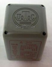 TRW UTC A-20 Audio Mixing Matching Transformer - 100% Tested & Cleaned