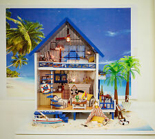 Dollhouse Miniature (DIY KIT)- A-029, Creek Beach Villa by Aegean Sea