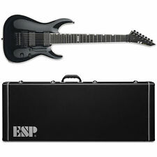 ESP E-II Horizon FR-7 7-String Floyd Rose Black NEW Guitar with Hardshell Case