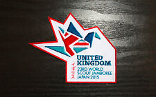 Badge: UK Contingent Official  - 23rd World Scout Jamboree 2015