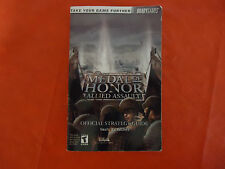 Medal of Honor Allied Assault Official Strategy Guide Book