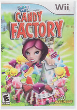 CANDACE KANE'S CANDY FACTORY  (Wii, 2008) INCLUDES INSTRUCTIONS