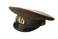 Russian / USSR Army Military Hat / Officer's Cap + Soviet Red Star size 57 cm M
