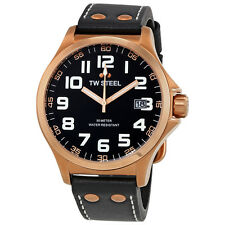 TW Steel Pilot Rose Gold PVD Mens Watch TW416