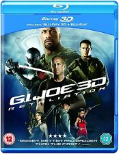 G.I. Joe Retaliation (Blu-ray 3D + Blu-ray) Region Free Brand New Sealed