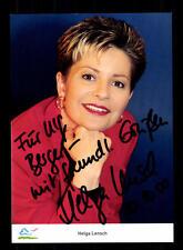 Helga Lensch Autogrammkarte Original Signiert # BC 87636