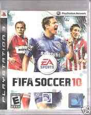 FIFA Soccer 10 PlayStation3 Video Sport Game Complete 1-7 players Sport Rating E