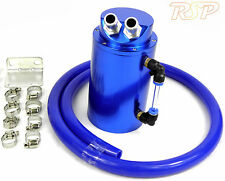 Blu Lega OIL CATCH TANK/può 10mm & 15mm PRESE D'ARIA FIAT UNO PUNTO GT COUPE TURBO