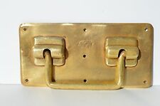 ANTIQUE FRENCH BRONZE FURNITURE/LUGGAGE ART&CRAFT HANDLE BY MARQUE DEPOSEE PARIS