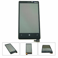 Nokia Lumia 920 LCD Touchscreen Front Glas Display Digitizer Kleber schwarz