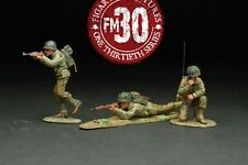 FIGARTI PEWTER WW2 AMERICAN RMA-010 RED BULL PATROL UNDER ATTACK SET A MIB