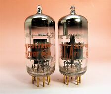 1 Pair of RCA (Siemens) 6922 E88CC  Gold Pin 1965 Vacuum Tubes