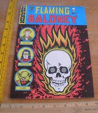 Flaming Baloney No.X underground comic magazine Propoganda Harvey Pekar 1970s VF
