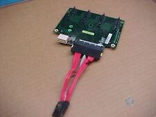 Sun 4-Slot SAS/SATA Disk Backplane (p/n 373-0020) with cable