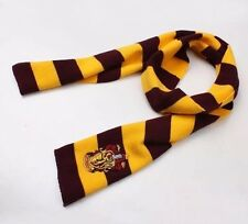 Harry Potter Gryffindor House Red/Gold Cosplay Costume Knit Wool Scarf US Seller