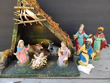 Vintage Christmas Figure Spider Mark Fontanini Nativity Set