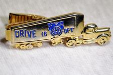 Tie Bar 18 Wheeler Long Haul Trucker Tractor Trailer Teamsters Union 1950s 1960s
