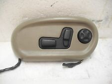 97 05 Buick Park Avenue & Ultra Driver Side Power Seat Controls & Tan Bezel OEM
