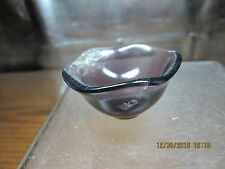 Semi-Precious Stone Carving Miniature Bowl Beautifully Hand Carved From Fluorite