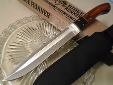 Ridge Runner Montana Toothpick Bowie Hunter Knife Full Tang Pakkawood RR466 New