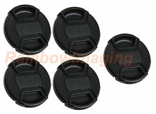 "5 x 58mm Snp On Cap for Canon Nikon Sony Pentax Olympus Fuji Lens  ""US Shipping"""