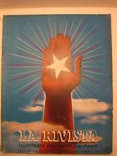 AA.VV., La rivista illustrata del Popolo d'Italia. Anno XVII. Novembre 1938