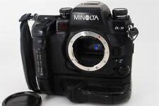 【Exc+++++!!】 Minolta α9 35mm SLR Camera Body only W/VC-9 battery Grip From Japan