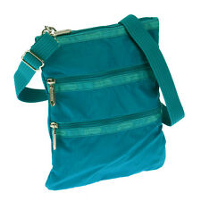 LeSportsac  Turquoise Kasey Crossbody Bag Travel Boarding Bag