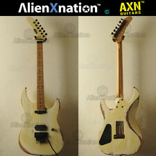 Vintage 1986 ESP Reverse Banana Kamikaze Guitar Relic'd by AlienXnation™ Guitars