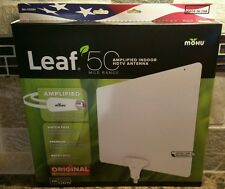 New 2016 Mohu Leaf 50 Amplified Indoor HDTV Antenna 4K Ready