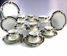 Antique English China Tea Set : Paragon Star Collectible Rare Peacock Pat 5969